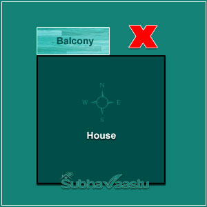 North Direction Balcony Vastu
