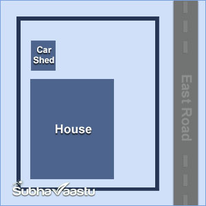 garage vastu for east facing house