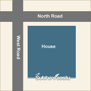 Vastu for Northwest corner house