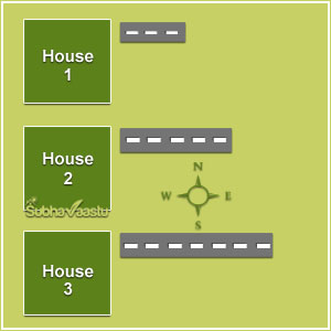 3 houses and description