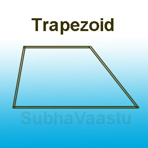 Trapezoid Shaped Sites
