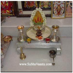 Kalasam At pooja room House