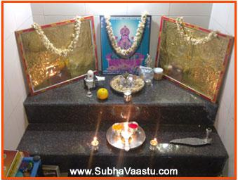 Vastu tips for pooja mandir