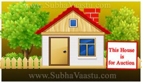 House for Auction due to bad vastu