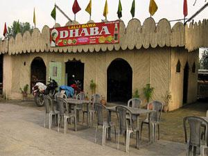 Wooden Dhabas