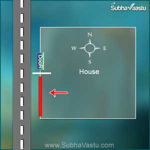 vastu shastra doors for west direction