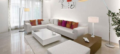 Sofa set and furniture settings