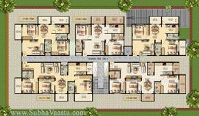 Vastu Shastra For Flats In Apartments When Coming To Some Are Commodious Apartment Which May Takes More Long Time Cramped