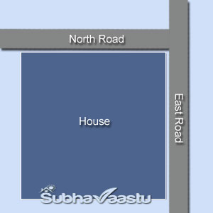 Northeast Corner block House or Plot