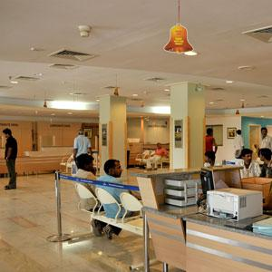 Vaasthu and nursing home reception counter