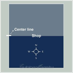 Vastu for South facing shops