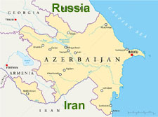 Azerbaijan Location