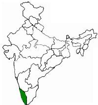 Kerala Location