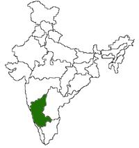 Karnataka Location
