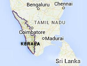 Kerala State Map