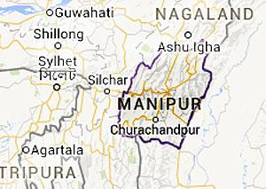 Manipur State Map