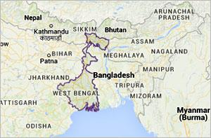 West Bengal State Map